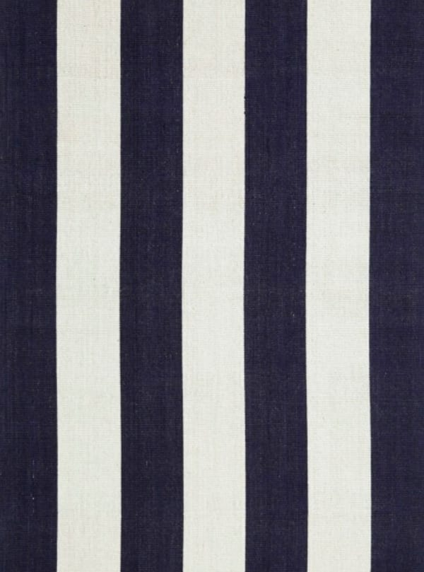 Habitat Rug – French Navy/Off white Bayliss
