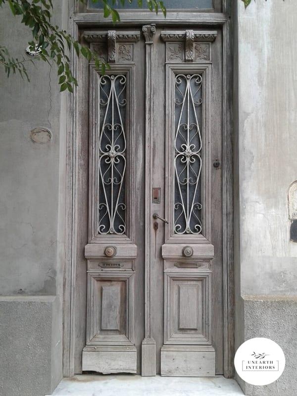 Door With Patina